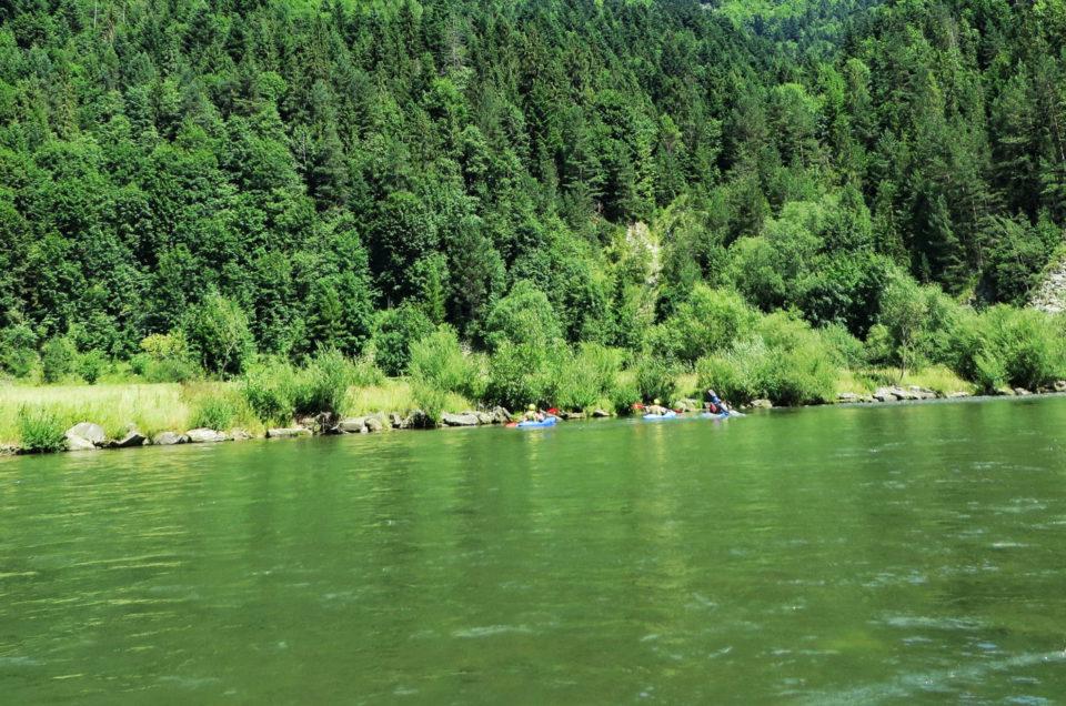 Jak wygląda spływ przełomem Dunajca ?