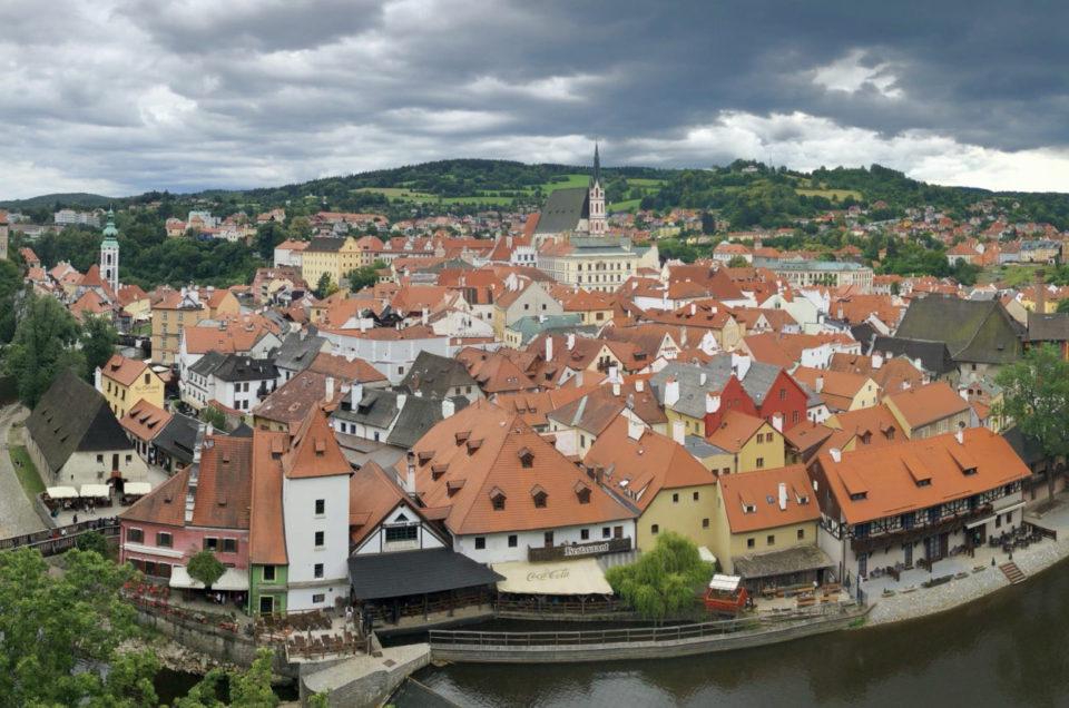 Krumlov, ładniejszy od Pragi