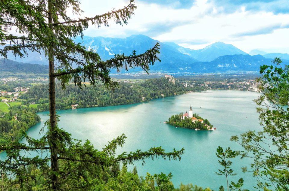Malowniczy Bled i pobliski wąwóz Vintgar
