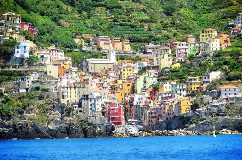 Szlaki w Cinque Terre