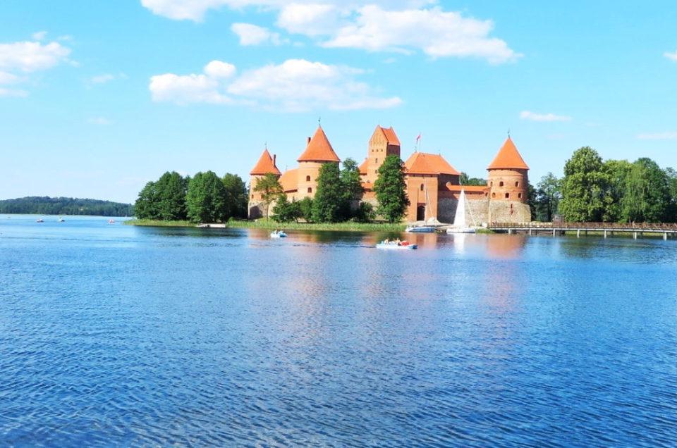 Litwa na weekend, część II – zamek w Trokach
