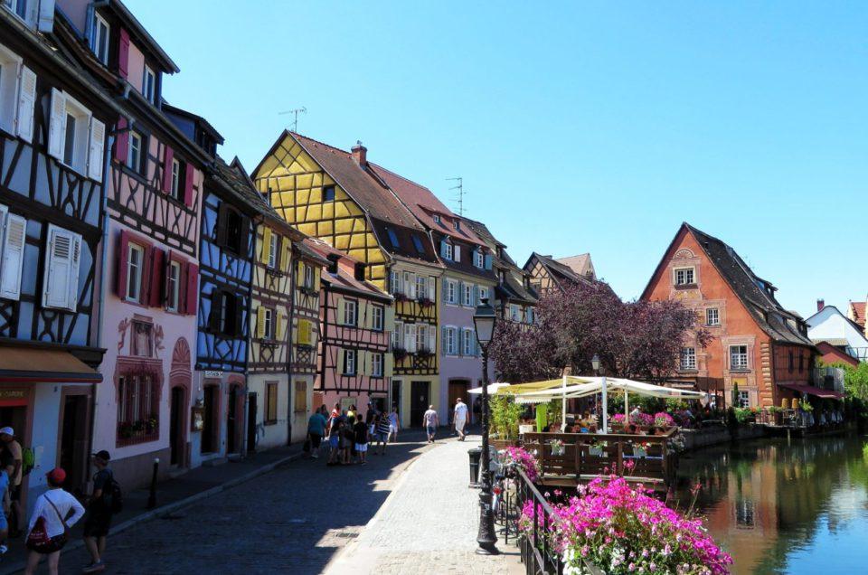 Wizyta w Colmar – jednym z najładniejszych miasteczek Francji