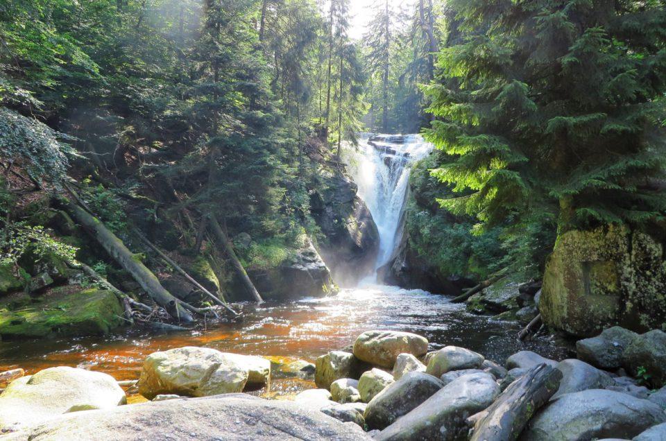 Najładniejsze wodospady w Karkonoszach – Kamieńczyka, Szklarki i Mumlavský