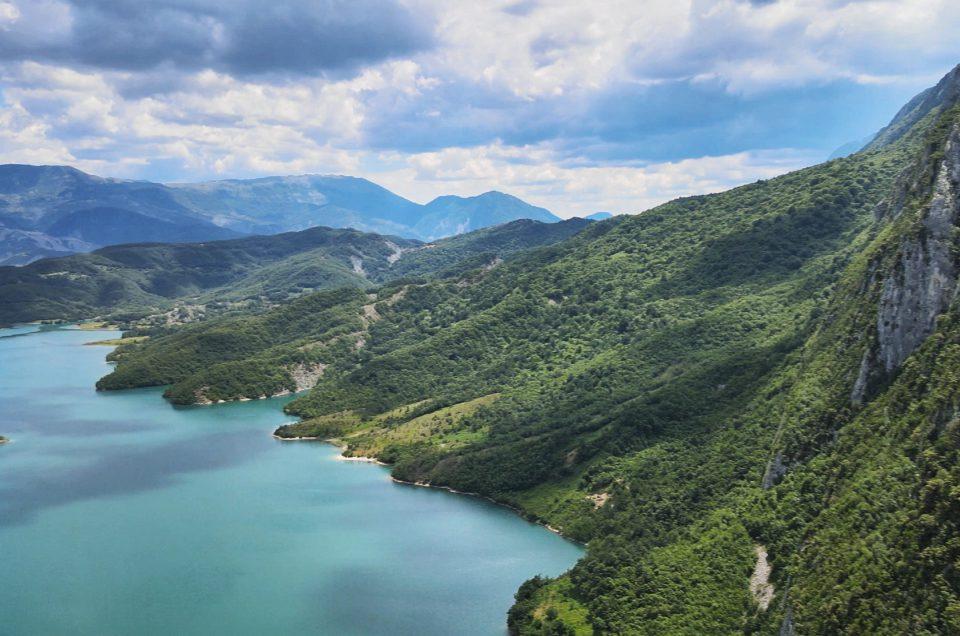 Jezioro Bovilla, trudny dojazd i nieudane wejście